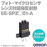オムロン(OMRON) EE-SPZ401-A レンズ付回帰反射形 フォト・マイクロセンサ (検出距離200mm) (NPN出力) (入光時) (電源: DC5~24V) NN