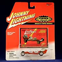 CUSTOM DRAGSTER * RED * Johnny Lightning 2000 TOPPER SERIES 1:64 Scale Die Cast Vehicle [並行輸入品]