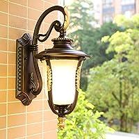 BXJ ヨーロッパの屋外の防水日焼け止めの壁ランプアメリカのバルコニーの通路の階段壁ランプ壁ランプ (Color : Down)