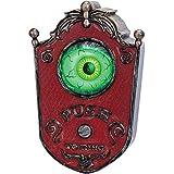 Light-Up Talking Eyeball Doorbell - Haunted House Halloween Party Prop Decoration