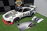 ポルシェ PORSCHE 935 TURBO Martini WORLD CHAMPION 1976 6H DIJON ICKX 1/18 EXOTO 18104