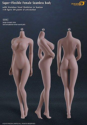 ファイセン・リミテッド 1/6スケール 超柔軟性シームレス女性素体 サンタンシリーズ バストサイズL(S09C)