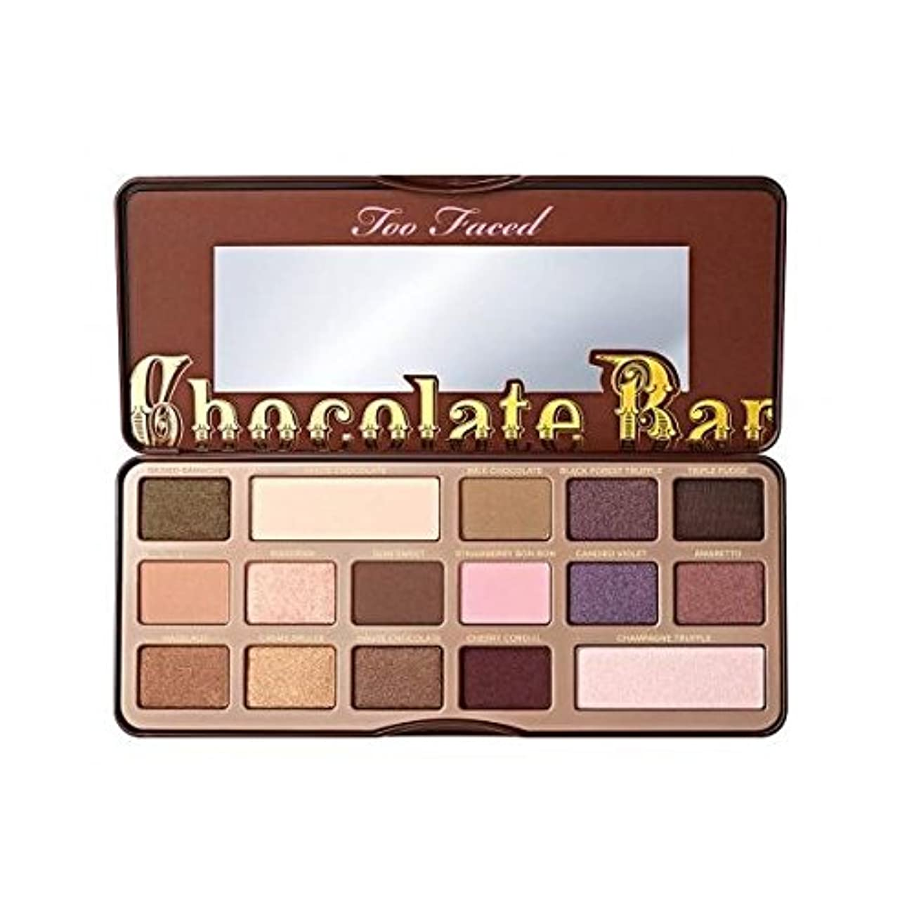 シリング午後置換TOO FACED CHOCOLATE BAR EYE SHADOW COLLECTION