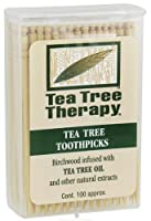 Tea Tree Therapy Toothpick Ttree And Mint by Tea Tree Therapy