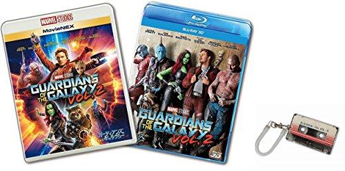 【Amazon.co.jp限定】ガーディアンズ・オブ・ギャラクシー:リミックス MovieNEXプラス3D:オンライン予約限定商品 [ブルーレイ3D+ブルーレイ+DVD+デジタルコピー(クラウド対応)+MovieNEXワールド] 薄型ICカードケース付 [Blu-ray]