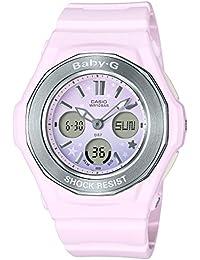 [カシオ] 腕時計 ベビージー BGA-100ST-4AJF レディース ピンク