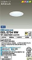 DDL-5794WW 大光電機 ダウンライト(軒下兼用)(LED内蔵)
