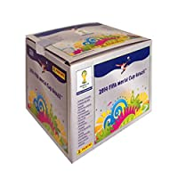 2014 FIFA World Cup Panini Sticker Pack CDU (100 packs)