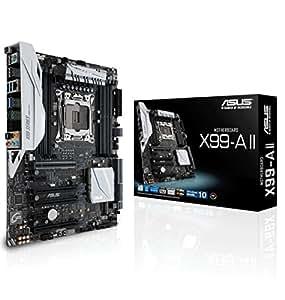 ASUSTeK Intel X99搭載 マザーボード LGA2011-v3対応 X99-A II 【ATX】