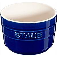 staub(ストウブ) ベイクウェア ブルー 直径:7cm ミニラムカン 40511-104