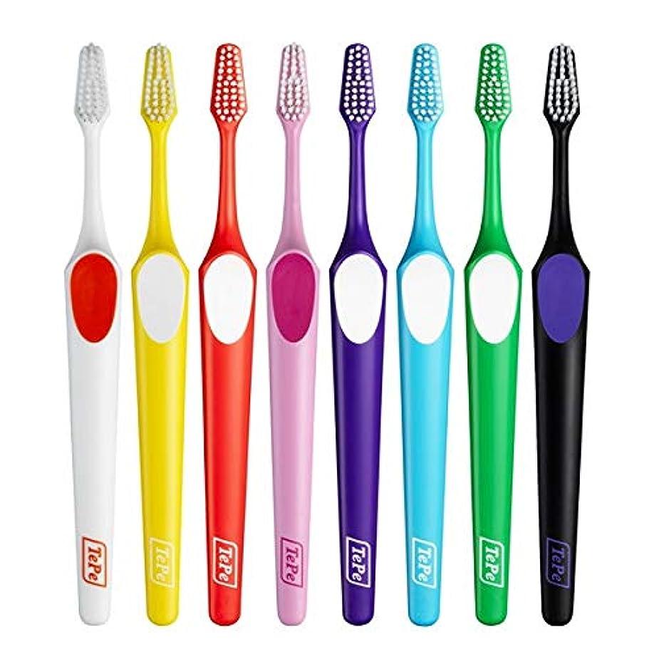 エッセンス法的娯楽TePe 歯ブラシ スプリーム 10本