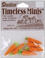 Timeless miniatures-carrots 6/ Pkg SKU # 1個659602MA