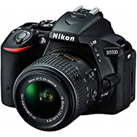 Nikon d5500 24.2 MP DSLRカメラwith 3.2-inch LCD 18 – 55 mm VR DXレンズ(ブラック) (認定Refurbished)