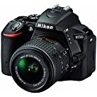 Nikon D5500 24.2 MP デジタル一眼レフカメラ 3.2インチLCD 18-55 mm VR DXレンズ (ブラック)(リニュー)