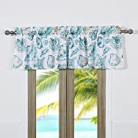 BarefootバンガローCruz Coastal Window Valance