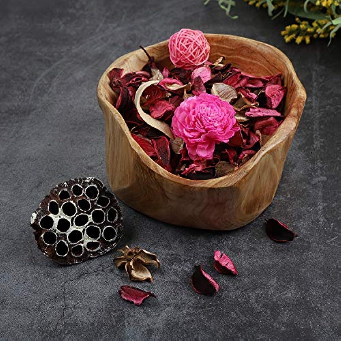 報酬反射マーキーQingbei Rina ポプリ ピンク 200g バラのポプリ ギフト 手作りの自然素材