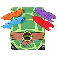 Teenage Mutant Ninja Turtles Cinch Bag with 4 Masks [並行輸入品]