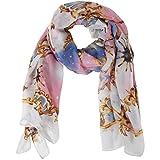 HERMES 財布 ピンク home-xレディースヘッドスカーフ。Nautical Beach Sunsetデザイン