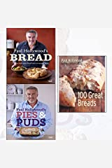 paul hollywood 3 books collection set - paul hollywood's bread, paul hollywood's pies and puds, 100 great breads[paperback] Hardcover