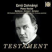 ベートーヴェン:ピアノ・ソナタ第16番、シューベルト:ピアノ・ソナタ第18番、自作自演集(1959年)、他 エルンスト・フォン・ドホナーニ(2CD)
