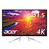 【Amazon.co.jp限定】Acer 4K モニターディスプレイ ET322QKAbmiipx  31.5インチ/HDR Ready対応/VA/4K/16:9/4ms/DisplayPort ・HDMI