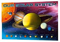 Our Solar System - Planets 3D Poster - 47x67cm