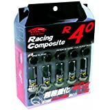 KYO-EI [ 協永産業 ] Racing Composite R40 [ M12×P1.25 ] Nut クラシカルメッキ [ 個数:20P ] [ 品番 ] RC-03K