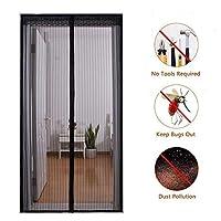 磁気スクリーンのドア、高密度のハエの虫の網のカーテンは自動的に閉まるドアのカーテンEの新鮮な空気を可能にします90x205cm(35x81inch)