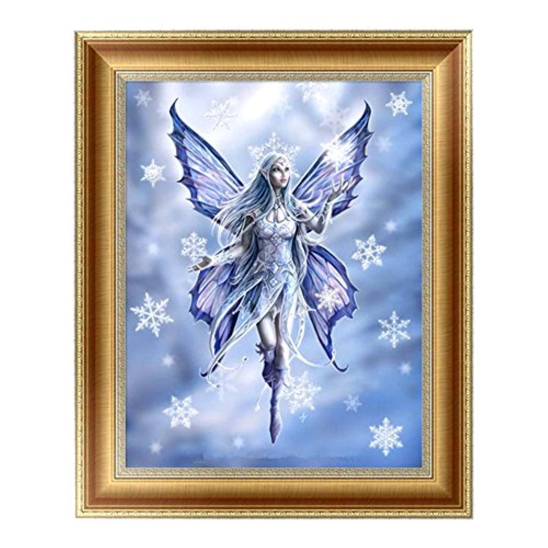 (デイリー スウィート) Daily Sweet  5D ダイヤモンド絵画 樹脂 DIY ラインストーン 絵画 貼れる 雪の精霊