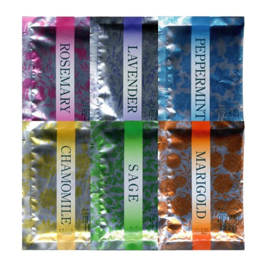 乳剤幾何学見捨てるアロマハーブ 香りの物語 6種アソート 30包