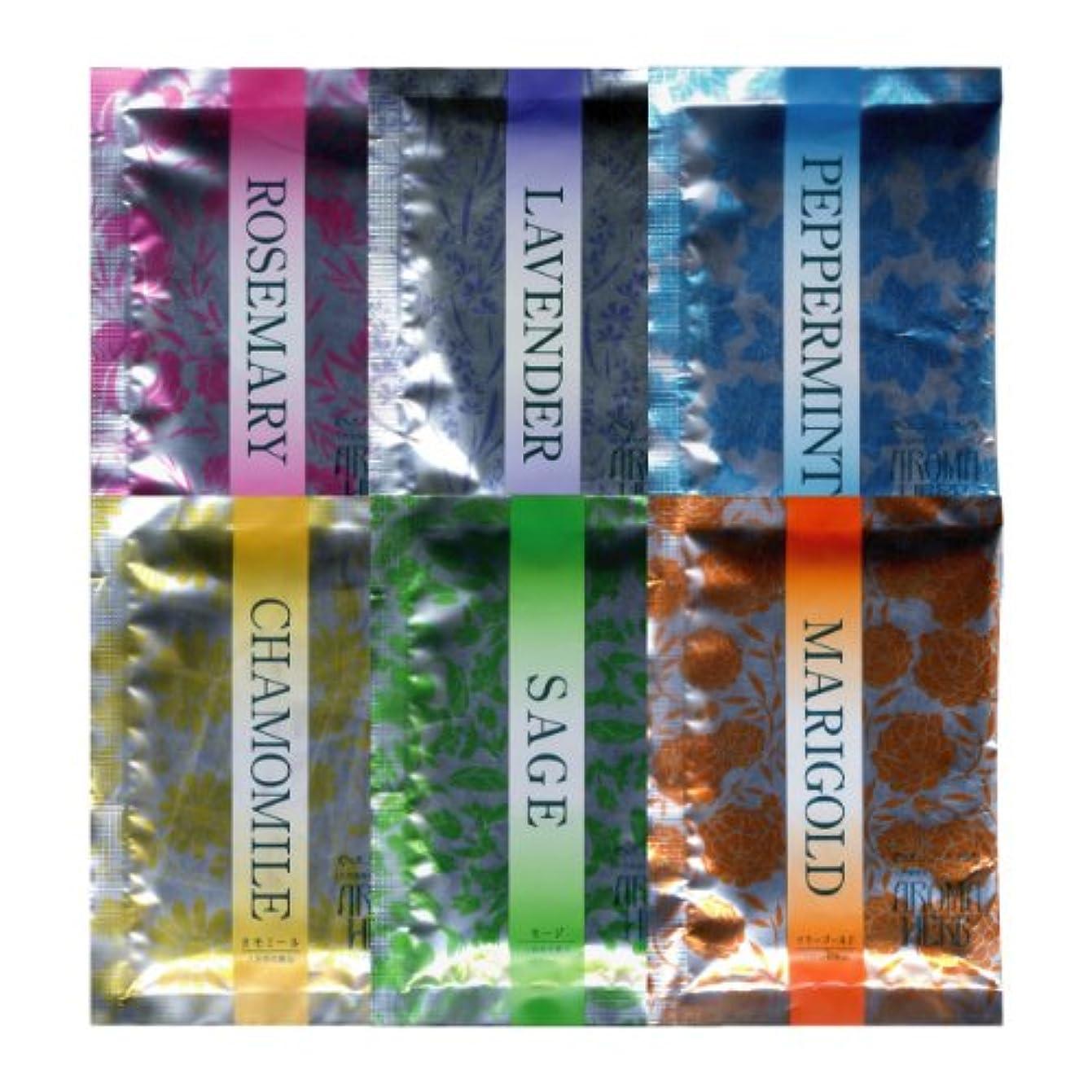 環境に優しいめんどり実験室アロマハーブ 香りの物語 6種アソート 30包