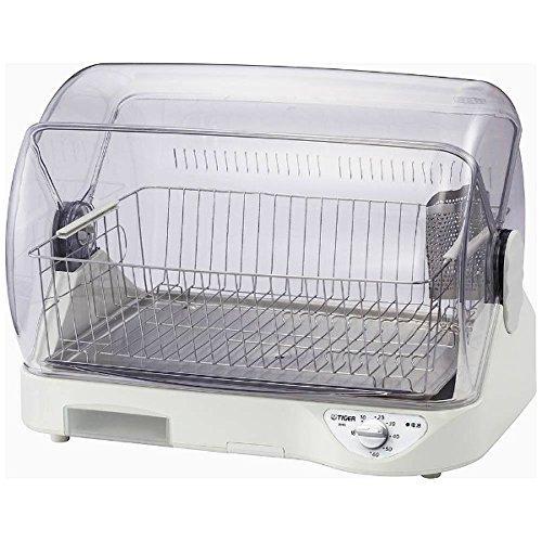 タイガー 食器乾燥器(ホワイト)TIGER サラピッカ 温風式...