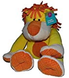 Plush Lion Yellow & Orange Stuffed Toy 17 Inches by Happy Spring [並行輸入品]