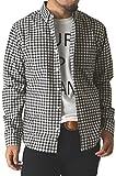 (リミテッドセレクト) LIMITED SELECT ゆうパケット発送 チェック柄シャツ メンズ シャツ ボタンダウンシャツ 長袖シャツ ギンガム マドラス ウインドペン ストライプ / R3G-0706 / L / G 7柄