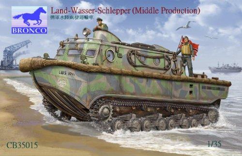 ブロンコモデル 1/35 独 水陸両用牽引車LWSラントワッサシュレッパー中期型 / CB35015