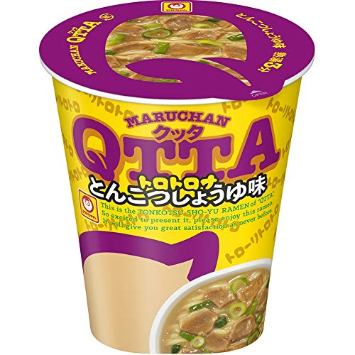 MARUCHAN QTTA(クッタ)とんこつしょうゆ味の通販の画像