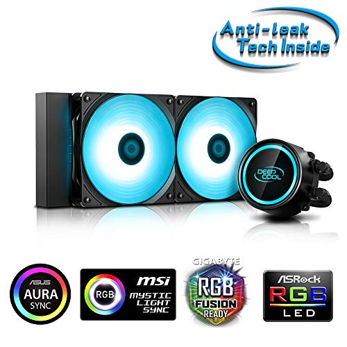 DEEPCOOL RGB LED Lighting対応 簡易水冷CPUクーラー [Intel/AMD両対応] GAMMAXX L240 V2 B07QFWQXZ1 1枚目