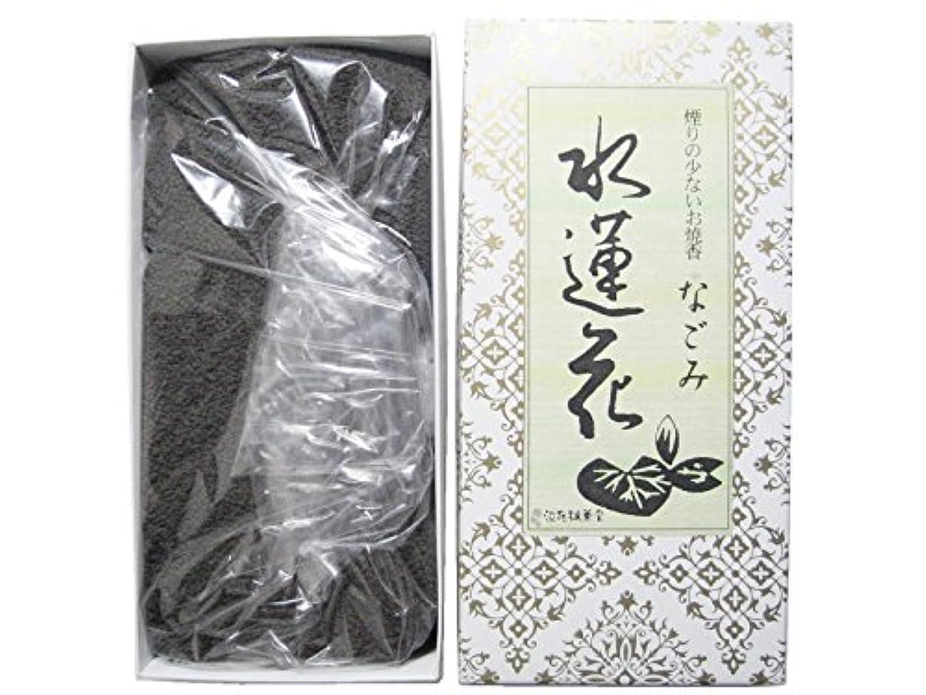 クラフト値するフィルタ淡路梅薫堂のお香 煙の少ないお焼香 なごみ 水蓮花 500g×10箱 #931