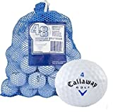 Callaway 48 AAA+ Ball Bag with HX Tour Mix Recycled Golf Balls%カンマ% White
