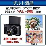 Canon デジタルカメラ PowerShot SX740 HS ブラック 幅110.1 × 高63.8 × 奥39.9 mm 光学40倍ズーム 4K動画対応 PSSX740HS(BK) 画像