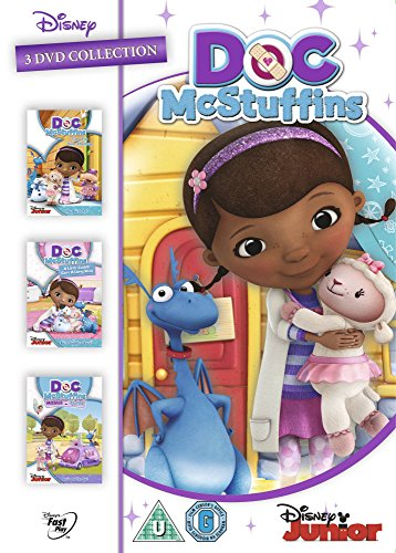 Doc McStuffins Triple Pack [DVD][PAL][輸入盤]