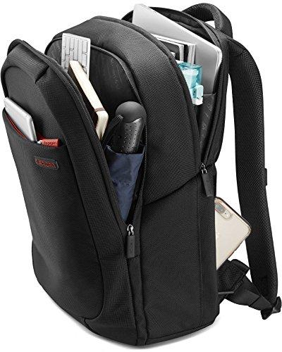 【Spigen】 リュック 生活 防水 大容量 スーツケース 対応 最大15インチ ノートPC 収納可能 ニューコーテッド2 プラス 000BG22249 (ブラック)