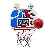 バスケットゴール 子供用 【Xiaz】家庭室内·屋外 壁取り付 ミニバスケットボード玩具 ボール付きセット