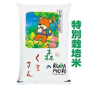 29年産 熊本産 特別栽培米 森のくまさん 5kg (5分づき(精米後約4.75kg))