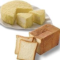 ルタオ (LeTAO) チーズケーキ 奇跡の口どけセット (ドゥーブルフロマージュ 北海道生クリーム食パン)