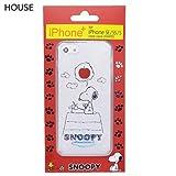 スヌーピー[iPhone SE 5Sケース]アイフォンSE 5Sクリアカバーピーナッツ【HOUSE 】