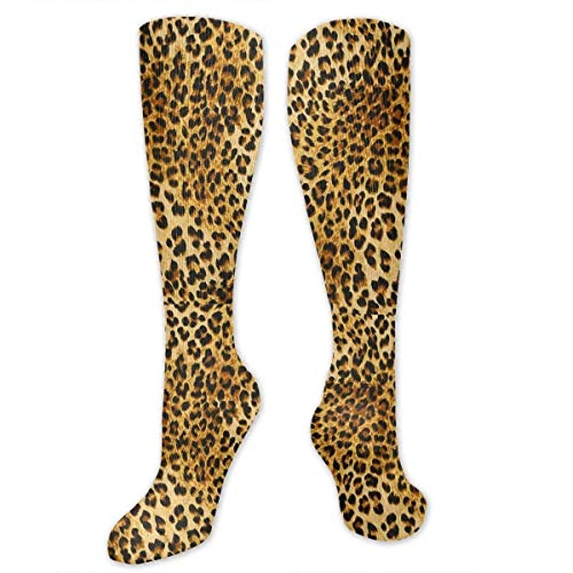名義で古風な草靴下,ストッキング,野生のジョーカー,実際,秋の本質,冬必須,サマーウェア&RBXAA Leopard Pattern Socks Women's Winter Cotton Long Tube Socks Cotton...