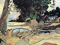 Lais Puzzle Paul Gauguin - 太い木(テブラオ) 200 部