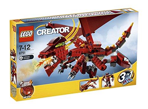 レゴ (LEGO) クリエイター・レッドドラゴン 6751