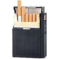 Etbotu Portable Simple Casual Cigarette Case USB Charging Lighter Cigarette Holder